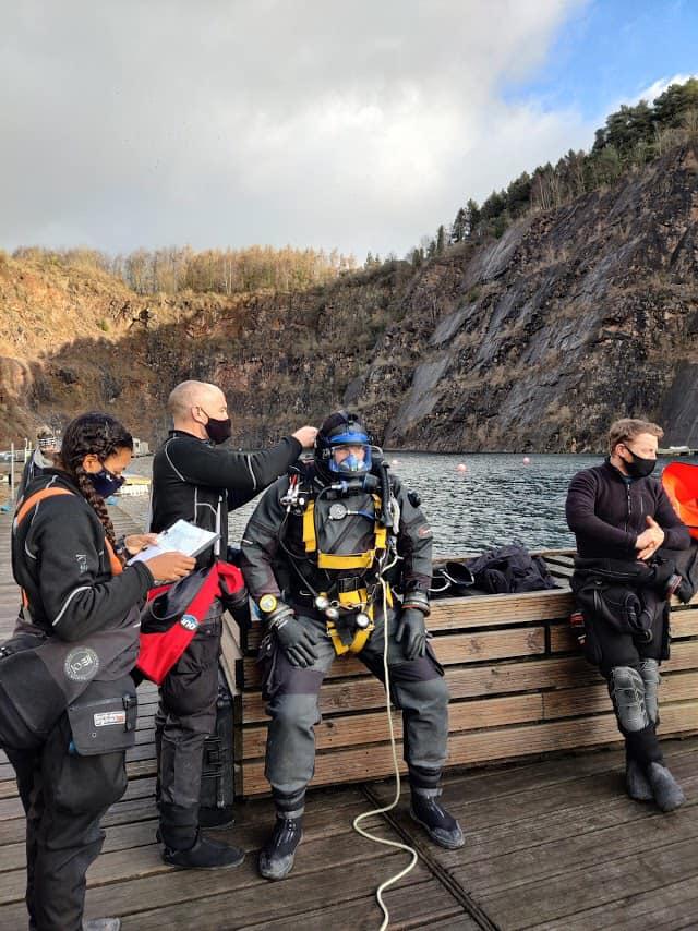 HSE Commercial Diver