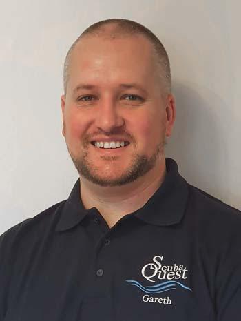 Gareth Rogers ScubaQuest Director, Recreational Divemaster