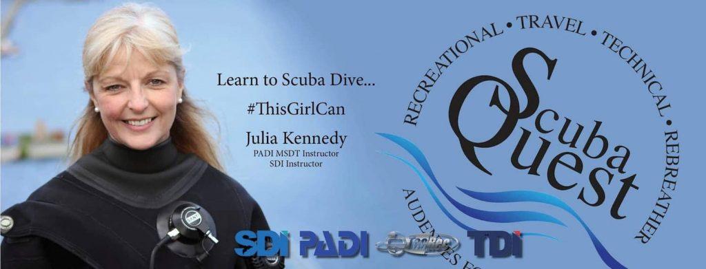 Julia Kennedy - Learn to Scuba Dive