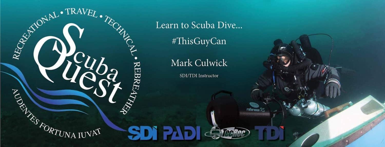 Mark Culwick - Learn to Scuba Dive