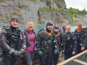 Group of divers at NDAC